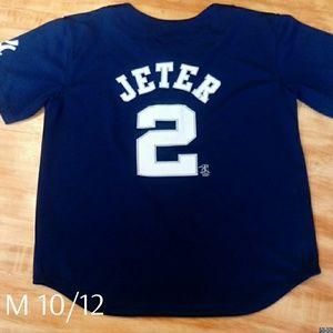 Major League Baseball NY Yankees Derek Jeter Navy